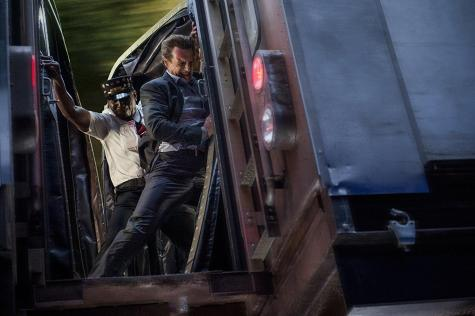 'The Commuter': fast, fun, flippant action ride