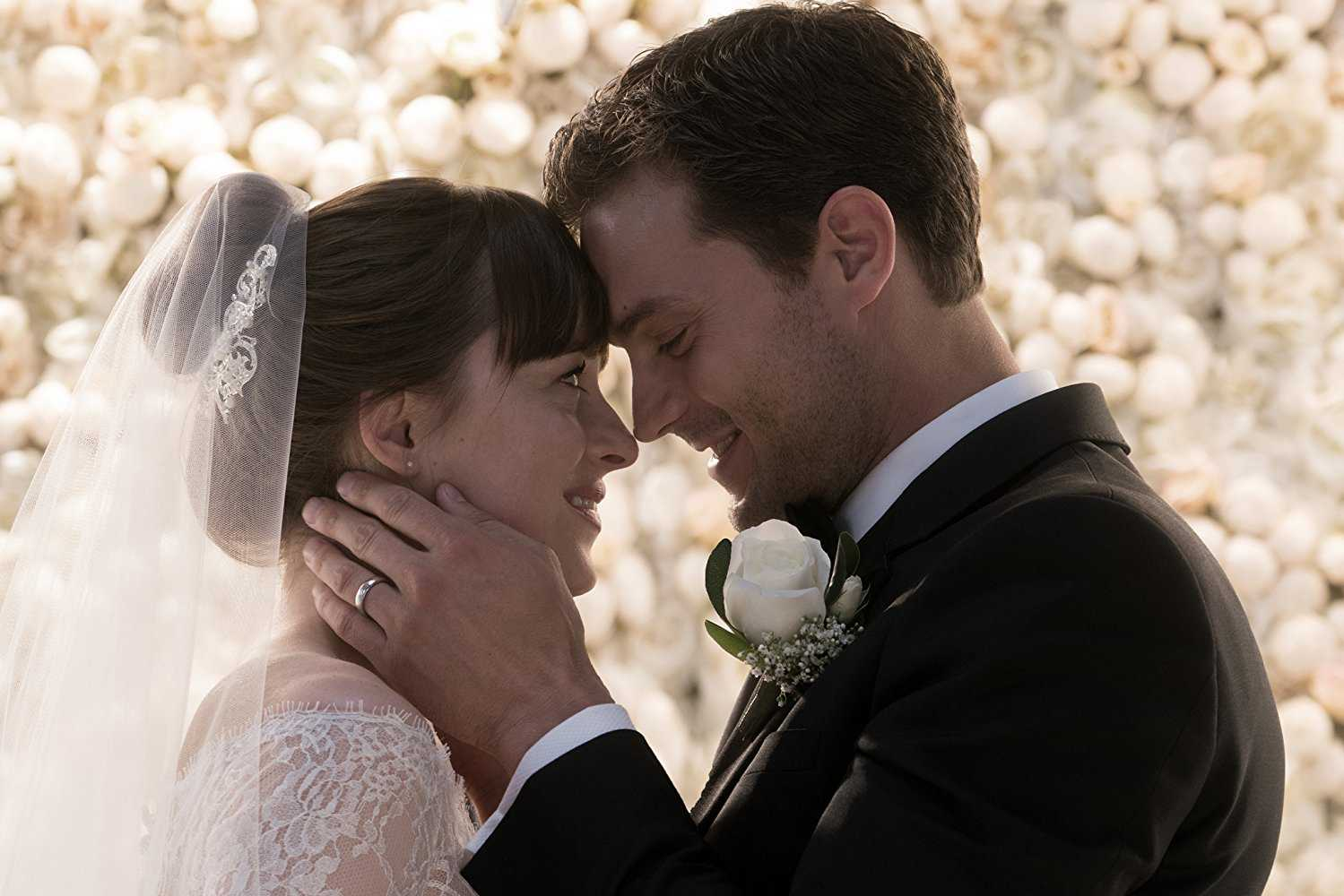 "UNIVERSAL PICTURES Topping the weekend box office, ""Fifty Shades Freed"" earned $38.8 million, a drop from previous entries in the franchise. The last film in the trilogy, the film has received lackluster reviews from critics with just an 11 percent on Rotten Tomatoes."