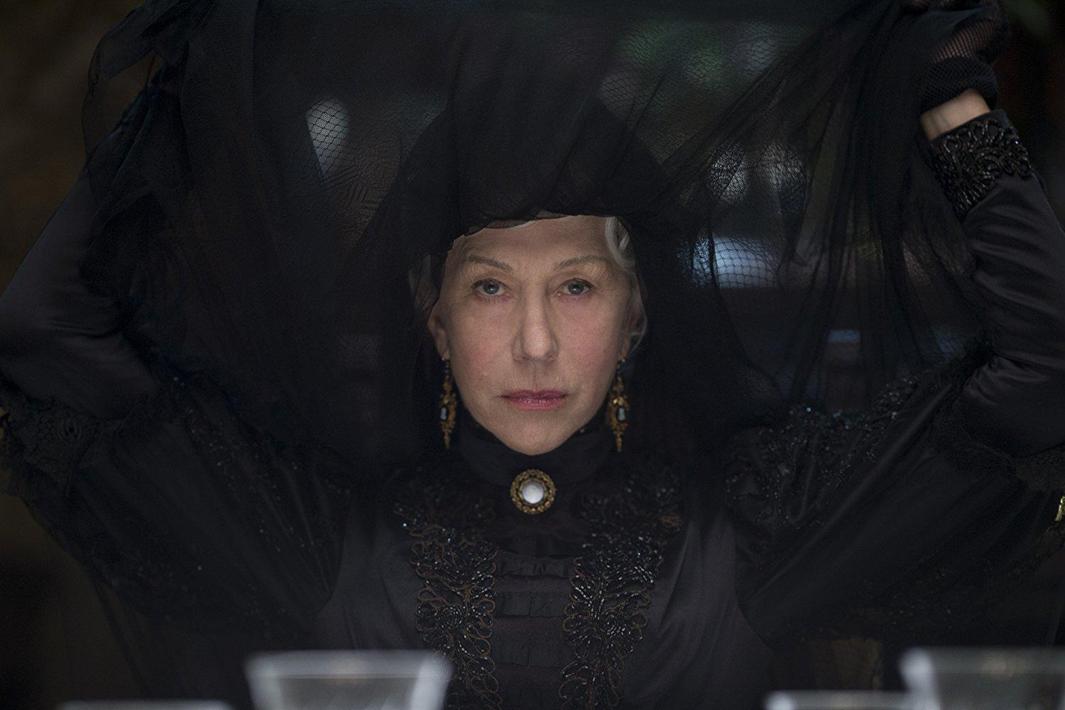 "LIONSGATE, CBS FILM Helen Mirren plays Sarah Winchester, a widow who inherits the Winchester Repeating Arms Company. She fears the ghosts of the those killed by the firearms manufactured by her company. ""Winchester"" opened in third place this weekend with $9.3 million."