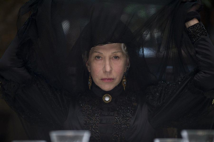 LIONSGATE%2C+CBS+FILM%0AHelen+Mirren+plays+Sarah+Winchester%2C+a+widow+who+inherits+the+Winchester+Repeating+Arms+Company.+She+fears+the+ghosts+of+the+those+killed+by+the+firearms+manufactured+by+her+company.+%E2%80%9CWinchester%E2%80%9D+opened+in+third+place+this+weekend+with+%249.3+million.