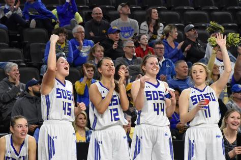 Summit League, SDSU Women's Basketball against NDSU