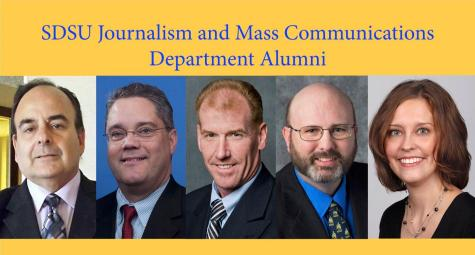 Five South Dakota State journalism alums to be recognized