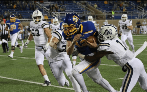 Jacks rout Bobcats in home opener 45-14