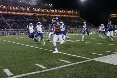 Jackrabbit football one win away from FCS Playoff seed