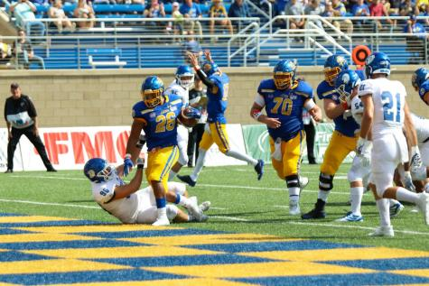 State downs Drake for third time in four years