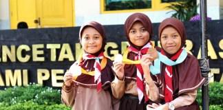 tiga siswa KMT PPO