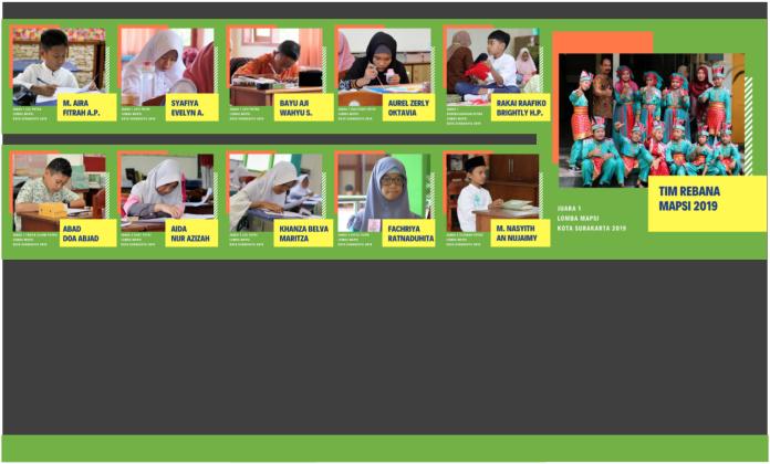 8 Cabang ke Provinsi, SD Ta'mirul Islam Pertahankan Juara Umum Mapsi Kota Surakarta