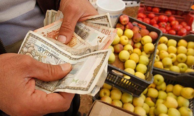 بعد البنزين..أسعار المواد الغذائية تحلّق في سوريا