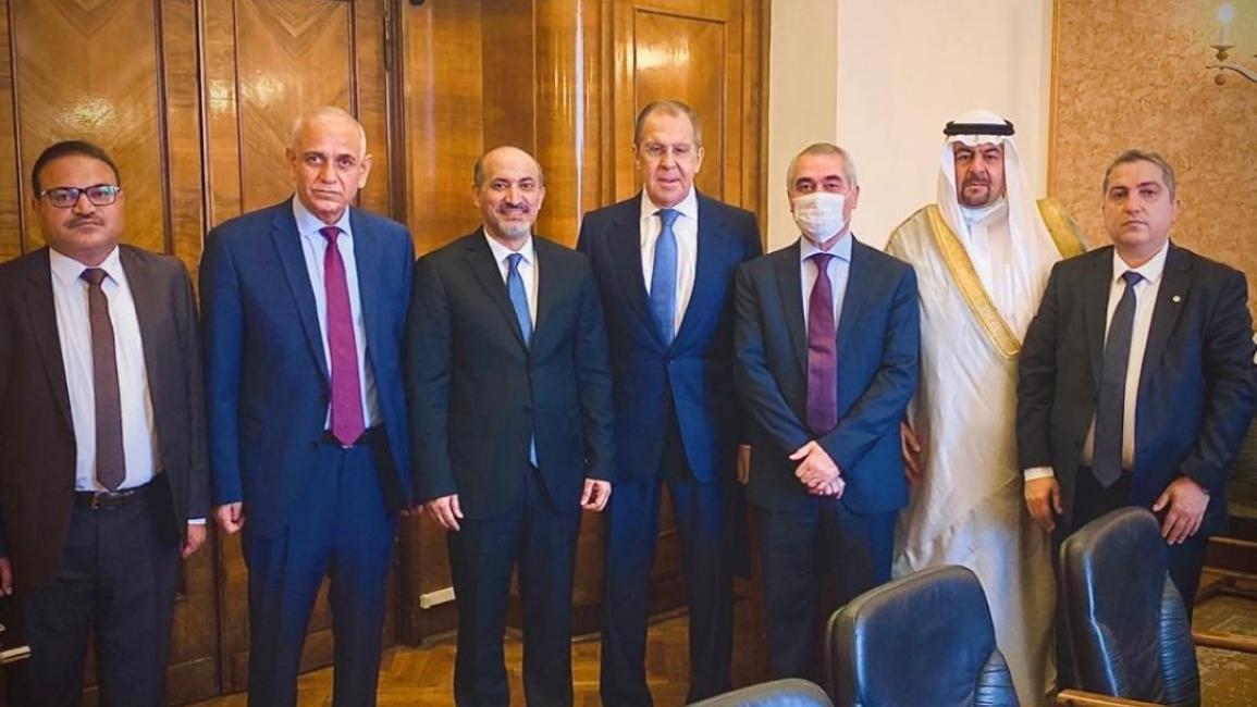 موسكو تواصل الاتصال مع واشنطن في سوريا ولافروف يستقبل معارضين سوريين