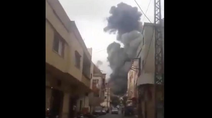 انفجار في مستودع أسلحة لـ«حزب الله» جنوب لبنان
