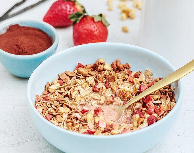Med rätt müsli till frukost är du redo för allt!