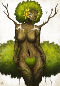 'Goddess of Earth' lånad av Ry-Spirit