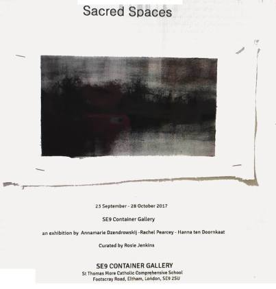 sacred spaces poster