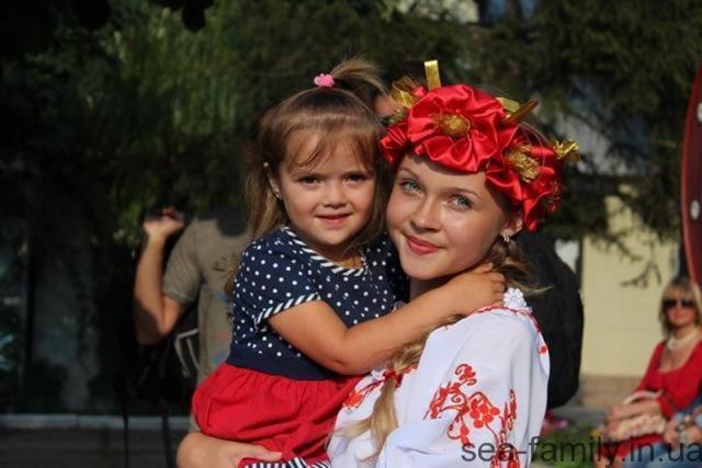 Геническ. День Конституции 2014
