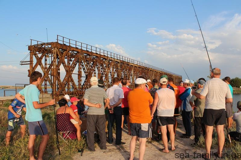 день рыбака в Геническе