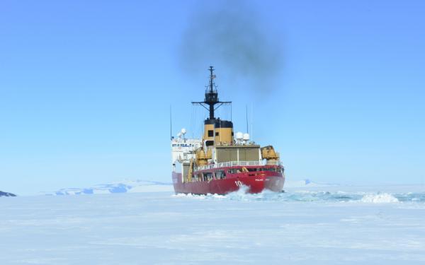 U.S. Icebreaker Returns After 107-Day Antarctic Mission
