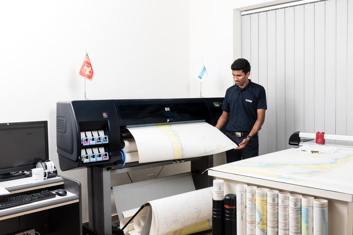 Dubai Nautical Chart Company Modernizes with Print-on-Demand