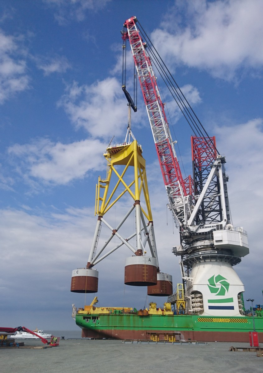 Wind Turbine Foundations Installed Using Pump Suction Bucket Technology