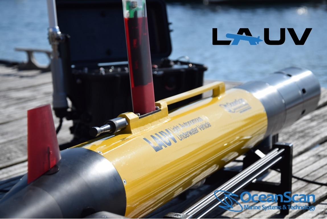 OceanScan-MST Uses iXblue Phins for Lightweight AUVs