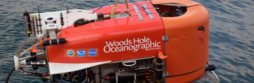 WHOI underwater robot automated sample