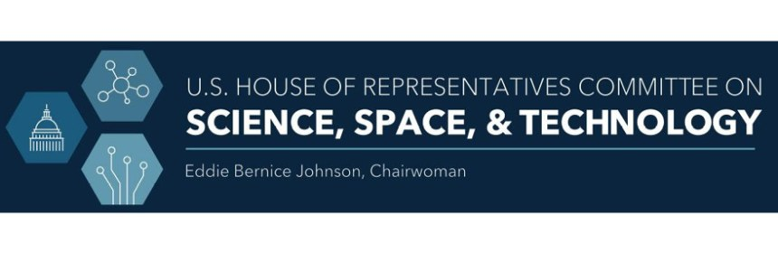 US House Science logo