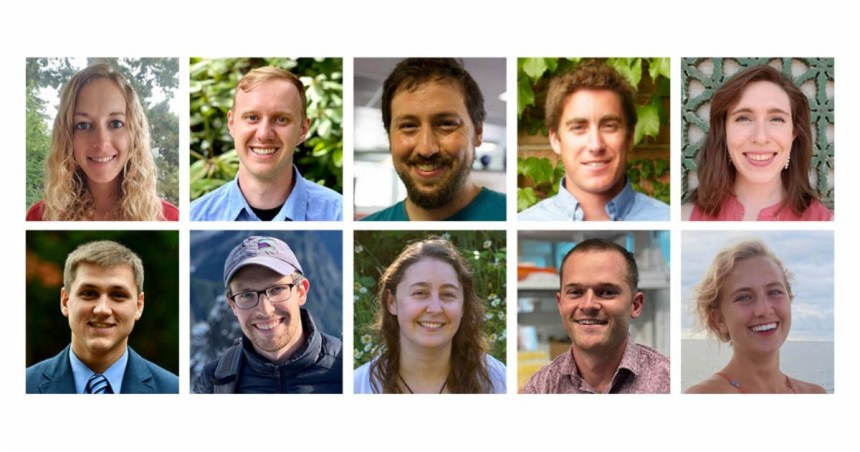2020 Fisheries-Sea Grant Joint Fellowship recipients