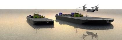 autonomous Forward Arming and Refueling Point (FARP) units for an Amphibious Maritime Projection Platform (AMPP)