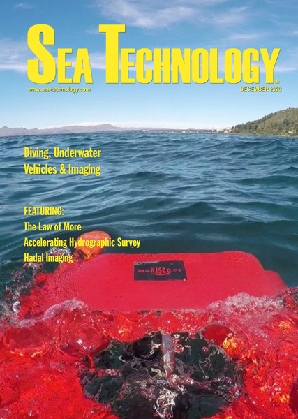 Sea Technology December 2020 Cover