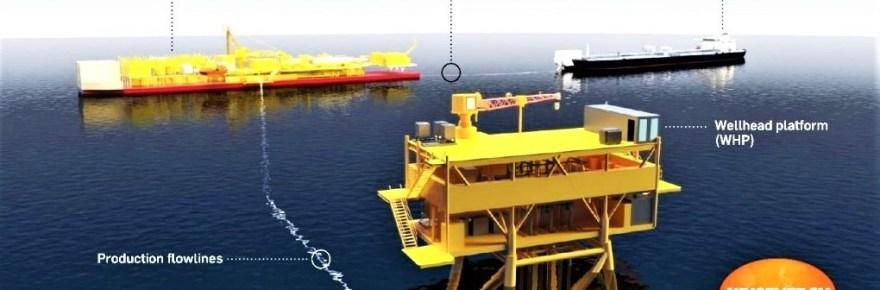 Aspara oil field come online