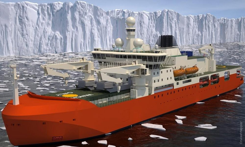 ANTARCTIC ICEBREAKER TO CONTRIBUTE TO GLOBAL OCEAN MAP