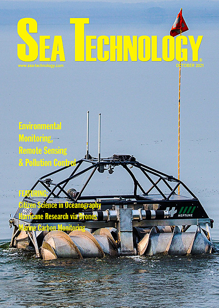 October Cover for Sea Technology magazine