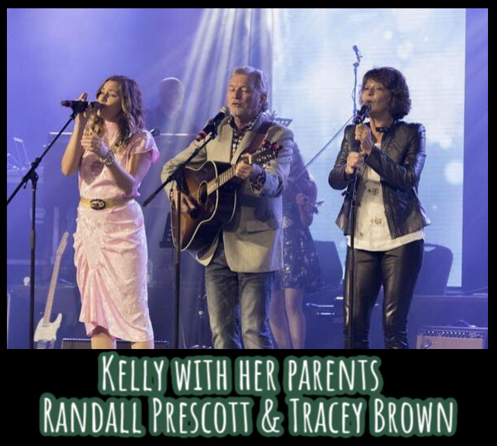 Kelly Prescott and her parents Randall Prescott and Tracey Brown