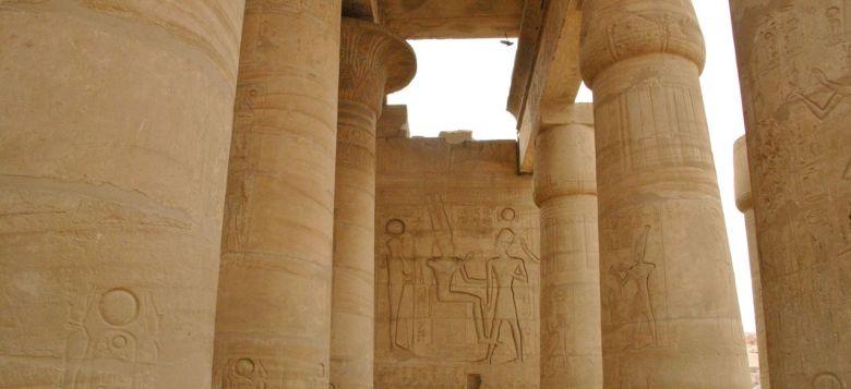 colonnes temple ramésseum thèbes