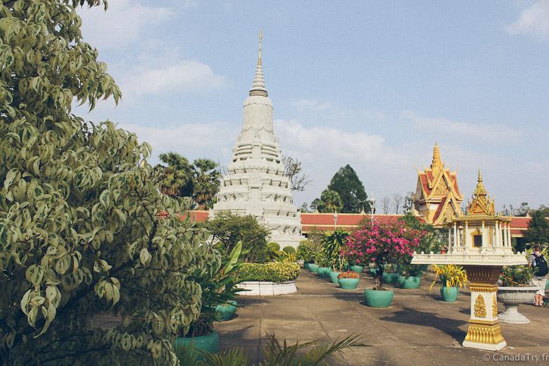 jardins du palais royal phnom penh