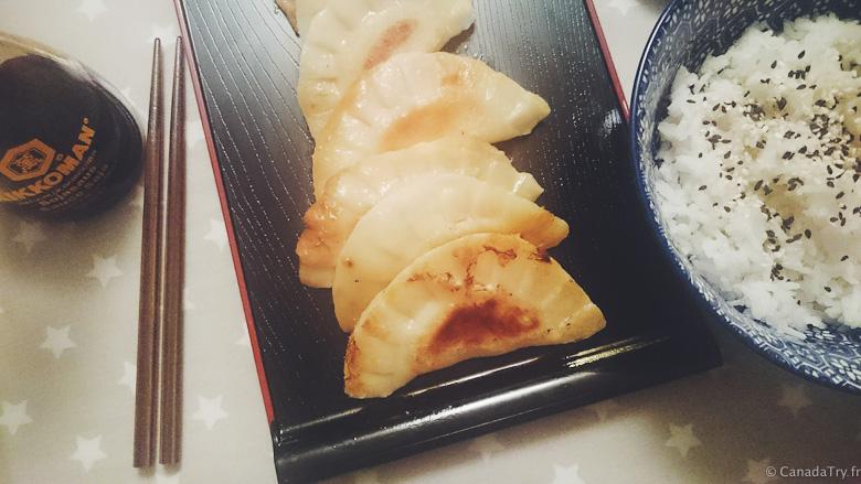 recette gyozas japonaix