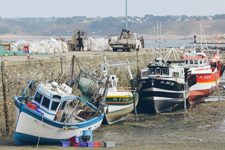 port de pêche locquémeau