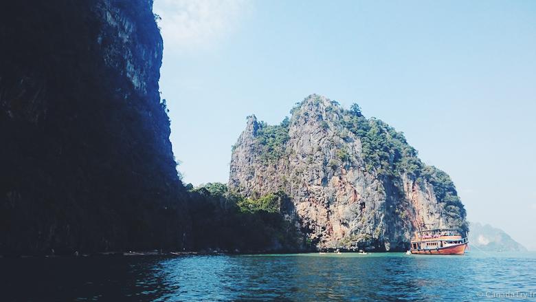 baie de phang nga thailande