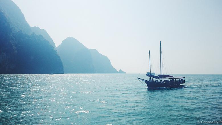 baie de phang nga thaïlande