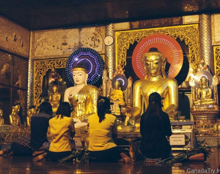 prières pagode shwedagon