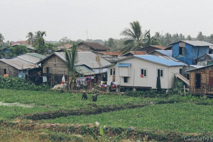 village birmanie