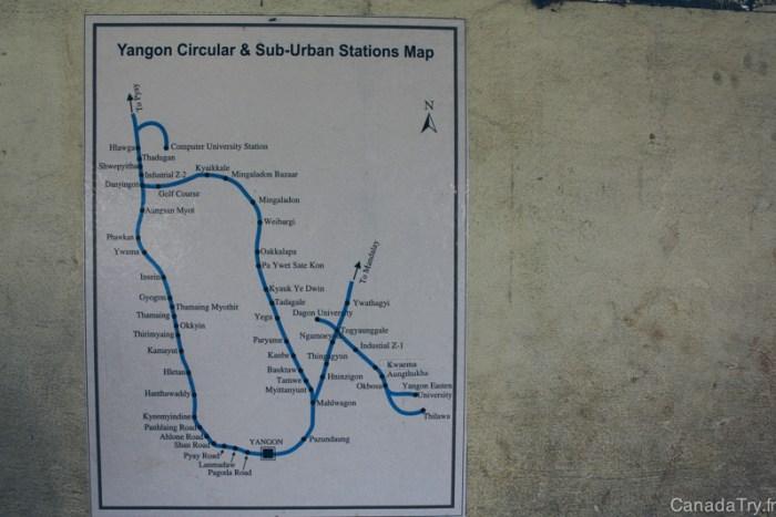 yangon train plan
