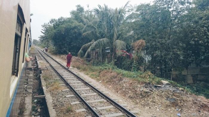 circular train yangon