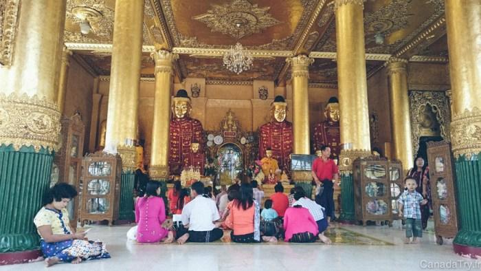 shwedagon pagoda birmanie