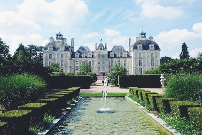 les jardins du chateau de cheverny