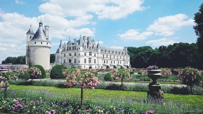 jardins du chateau de chenonceau