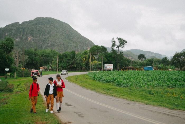 écoliers à cuba