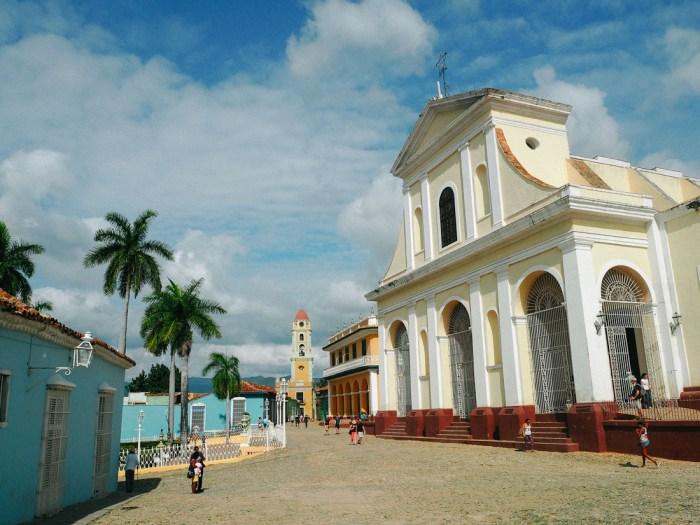 architecture du centre historique de Trinidad