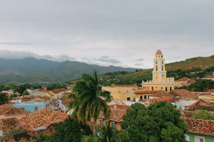 trinidad cuba clocher