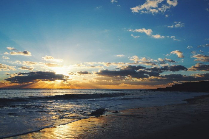 coucher de soleil plage sainte marguerite