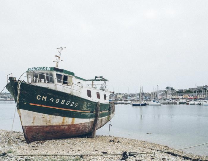 Cimetière des bateaux, Camaret-sur-mer